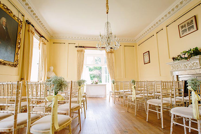 The Georgian Rooms at Sprivers Mansion - Secluded Country House Kent Wedding Venues