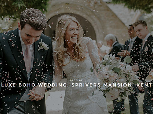 Boho Wedding at Sprivers