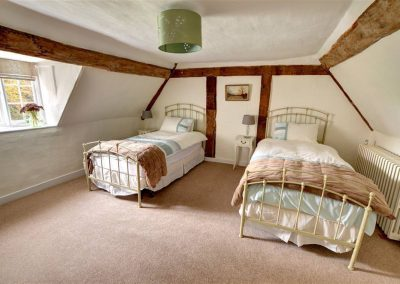 Rose Garden Wing bedroom Wedding Venues in Kent with accommodation
