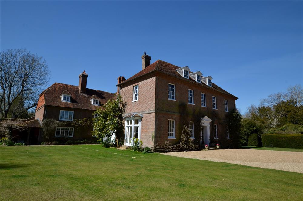 The Rose Garden wing at Sprivers Wedding Venues in Kent with accommodation