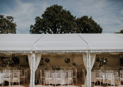 Jo Frazer-Sprivers Kent Wedding Venue Marquee