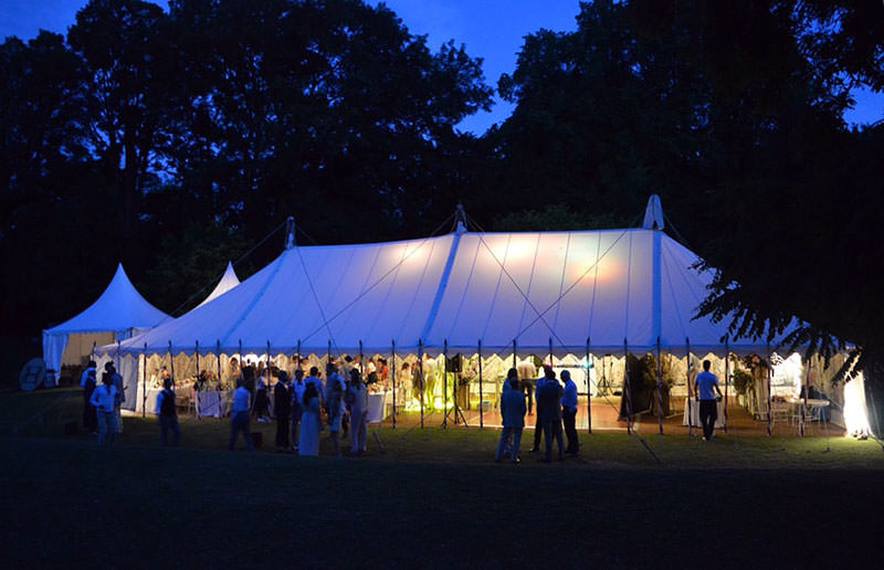 Grounds Gardens and Marquee at Sprivers